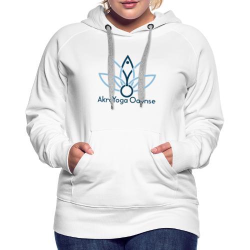 AYO's Logo - Dame Premium hættetrøje