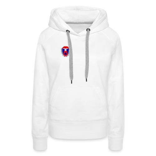 logo détouré png - Sweat-shirt à capuche Premium pour femmes