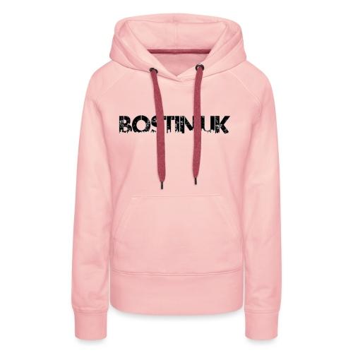 Bostin uk white - Women's Premium Hoodie