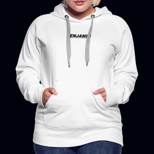 BENJAMIN tee's Available whenever - Women's Premium Hoodie