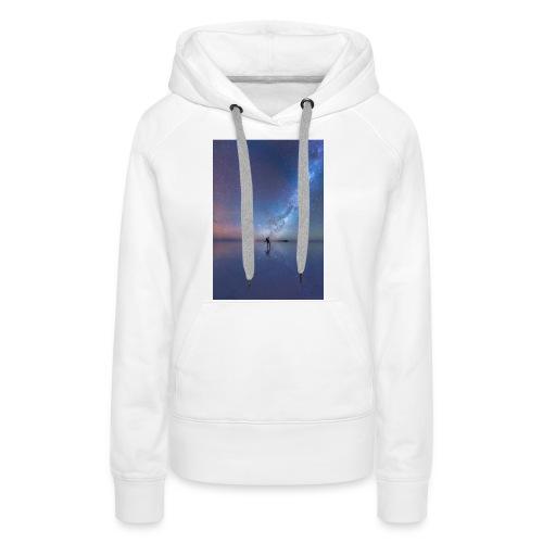 Człowiek i kosmos 6s Plus - Bluza damska Premium z kapturem