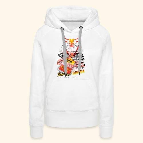 lustiges Sauftour-Shirt Booze Cruize - Frauen Premium Hoodie