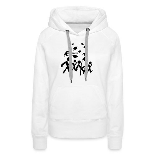 BEGRADUATED - Vrouwen Premium hoodie