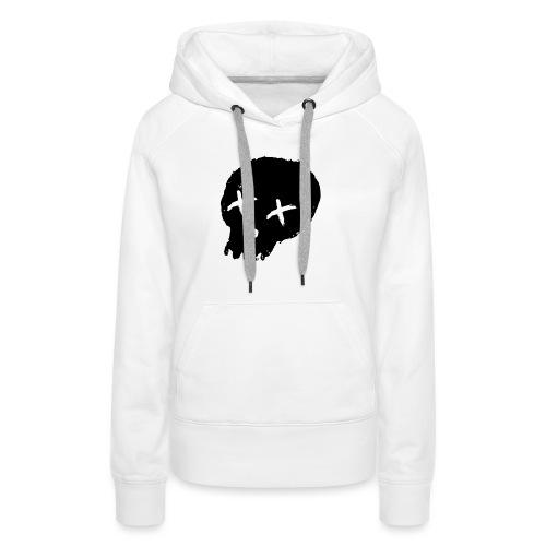 blackskulllogo png - Women's Premium Hoodie