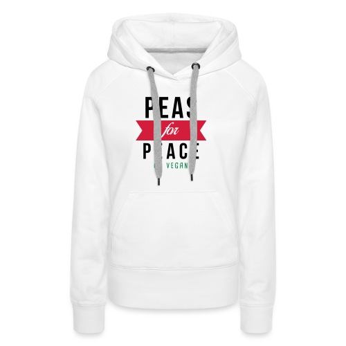 Peas for Peace - Frauen Premium Hoodie