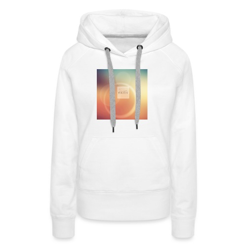 autumn coque png - Sweat-shirt à capuche Premium pour femmes