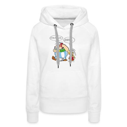 Asterix & Obelix boudeur - Sweat-shirt à capuche Premium pour femmes