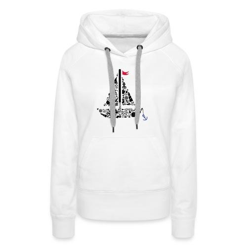 segelboot - Frauen Premium Hoodie