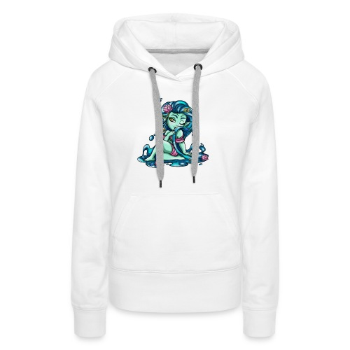 Zodiac Sign : Fish - Sweat-shirt à capuche Premium pour femmes