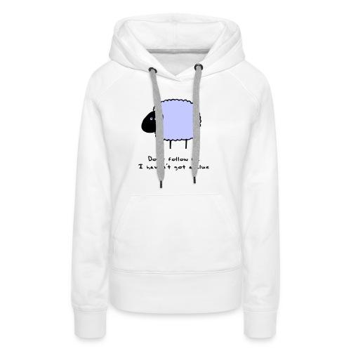 Sheep Clue - Women's Premium Hoodie