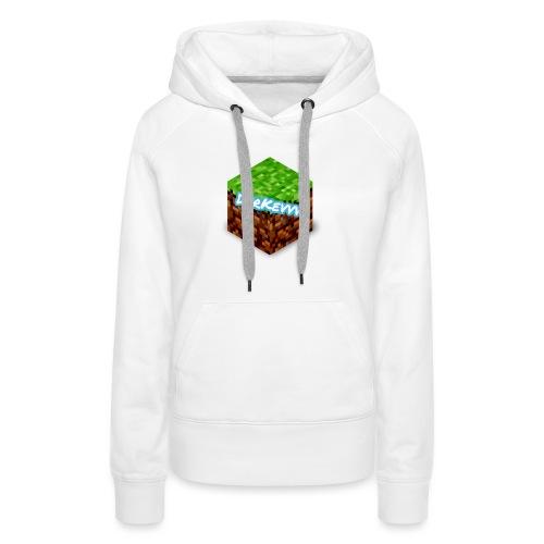 DerKevvv (Gras Block) - Frauen Premium Hoodie