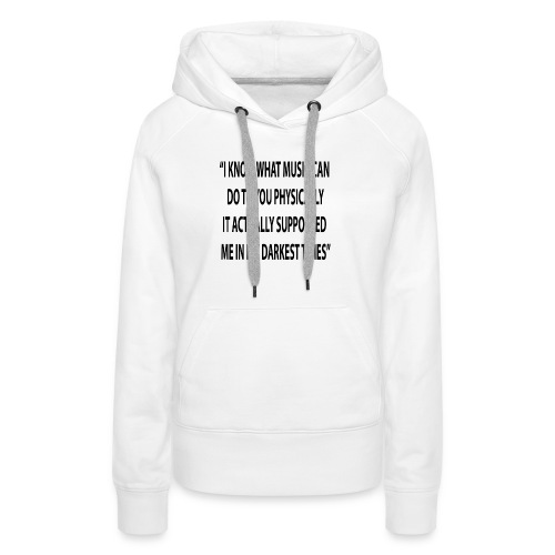 Quote RobRibbelink physically Phone case - Women's Premium Hoodie