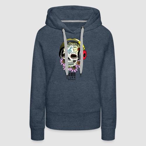 smiling_skull - Women's Premium Hoodie