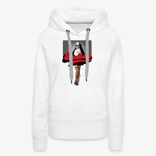 XCLLT - Religious Sister - Sweat-shirt à capuche Premium pour femmes