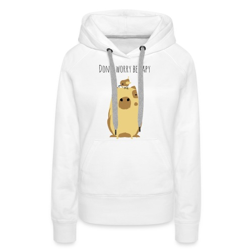 Wasserschwein Spruch - Frauen Premium Hoodie
