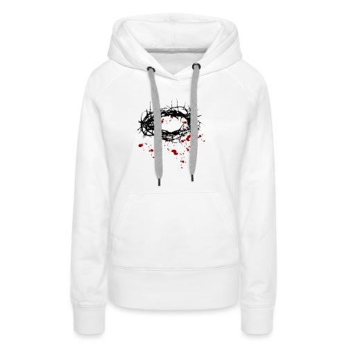 Dornenkrone - Frauen Premium Hoodie