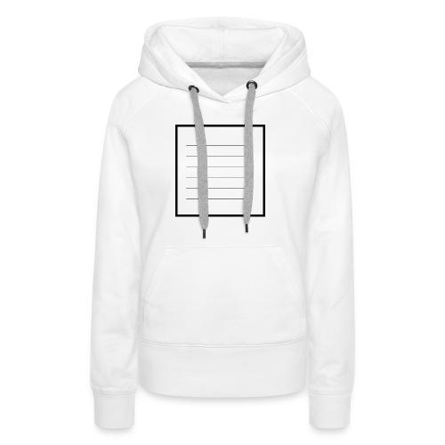 tell me what you think - Frauen Premium Hoodie