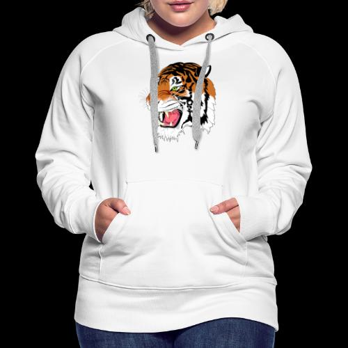 Sumatra Tiger - Frauen Premium Hoodie