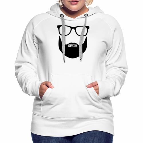 Plum Bart Schwarz - Frauen Premium Hoodie