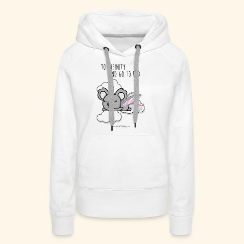 Buzz koala - Sweat-shirt à capuche Premium pour femmes