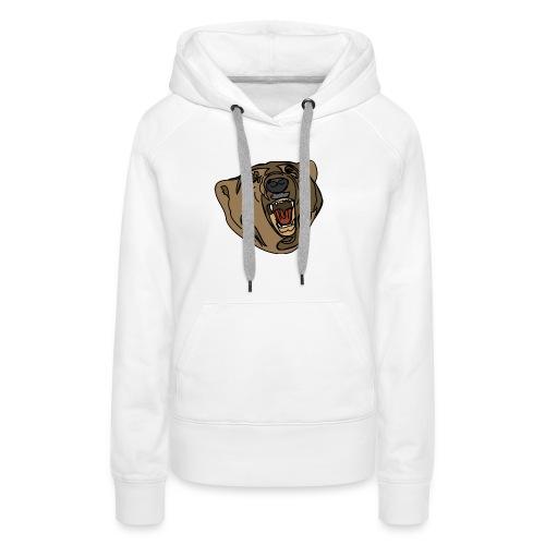 beer sweater (grey) - Vrouwen Premium hoodie