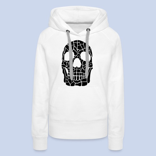 The Skull - Frauen Premium Hoodie