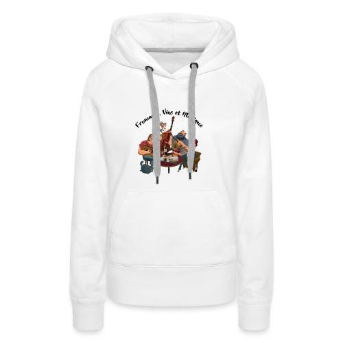 FVM2021 - Sweat-shirt à capuche Premium pour femmes