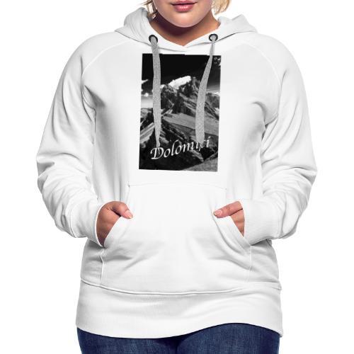 Dolomiti - Frauen Premium Hoodie