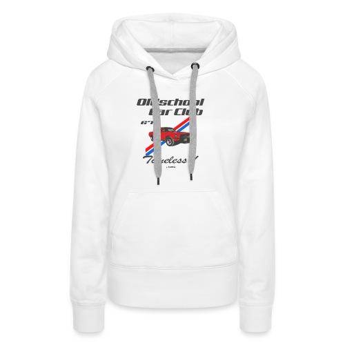 Mustang 67 - Sweat-shirt à capuche Premium pour femmes