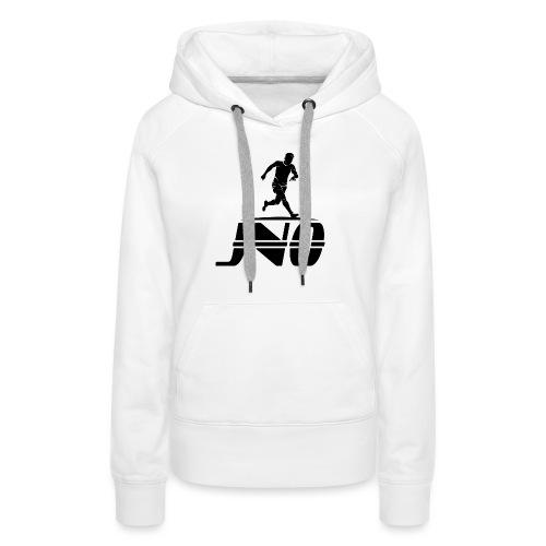 JNO Logo Black - Women's Premium Hoodie