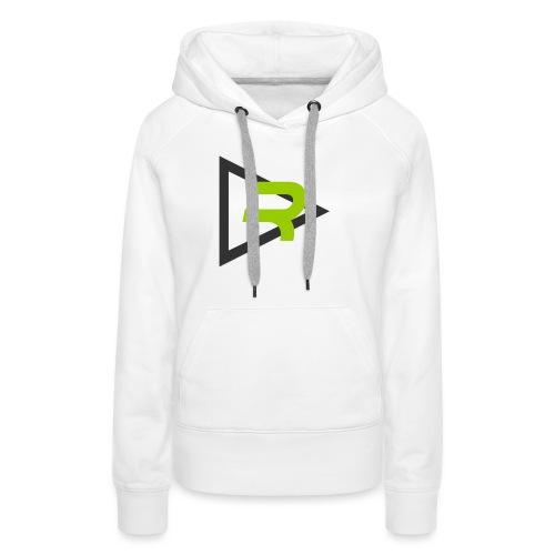 T-shirt Retech New logo - Sweat-shirt à capuche Premium pour femmes