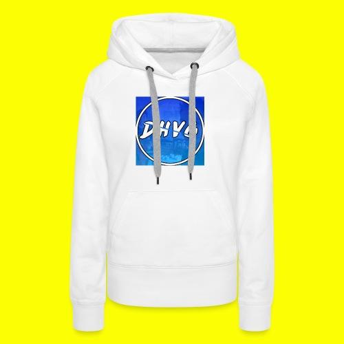 DusHeelVeelgamen New T shirt - Vrouwen Premium hoodie