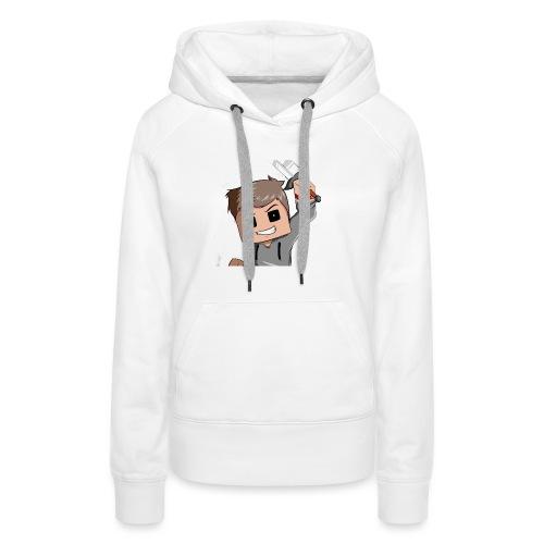 AwaZeK design - Sweat-shirt à capuche Premium pour femmes