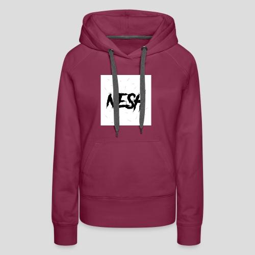 Nesh Logo - Frauen Premium Hoodie