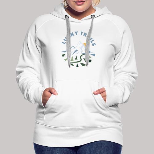 Lucky Trails, URL - Frauen Premium Hoodie