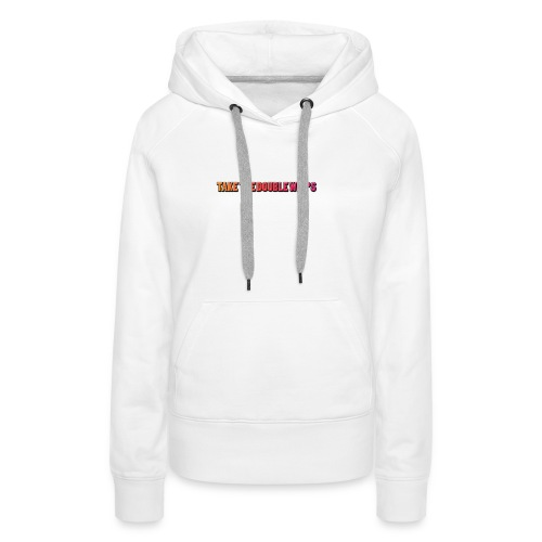 TAKE THE DOUBLE WHIPS ICON - Women's Premium Hoodie