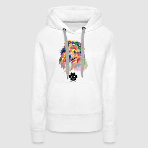 Happy Little Sheltie - Women's Premium Hoodie