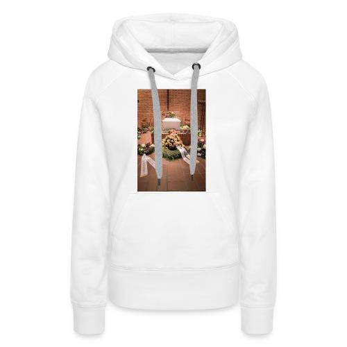 Begravelse - Dame Premium hættetrøje