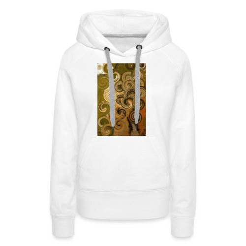 digital Acryl Artwork - Frauen Premium Hoodie