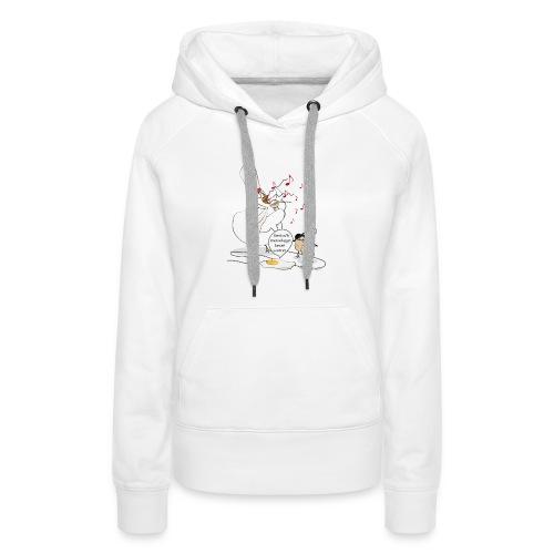 plutot la mort que la sou - Sweat-shirt à capuche Premium pour femmes