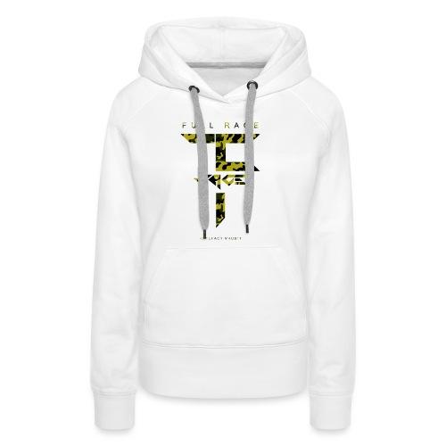 Full Rage Design 7 - Sweat-shirt à capuche Premium pour femmes