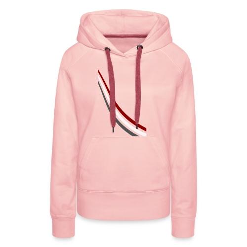 stripes shirt png - Vrouwen Premium hoodie