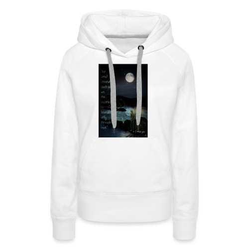 I miss you - Women's Premium Hoodie