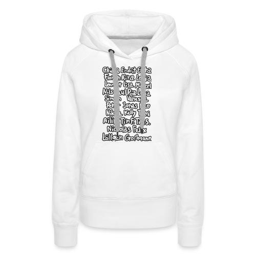 9f BACK FINALEFINALE png - Frauen Premium Hoodie