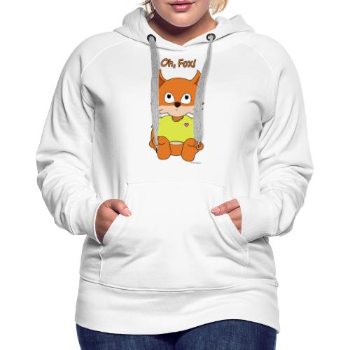 Oh, Fox! Cute mug - Women's Premium Hoodie