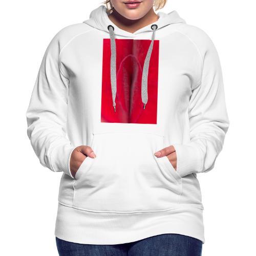 Sexe et poésie - Sweat-shirt à capuche Premium pour femmes