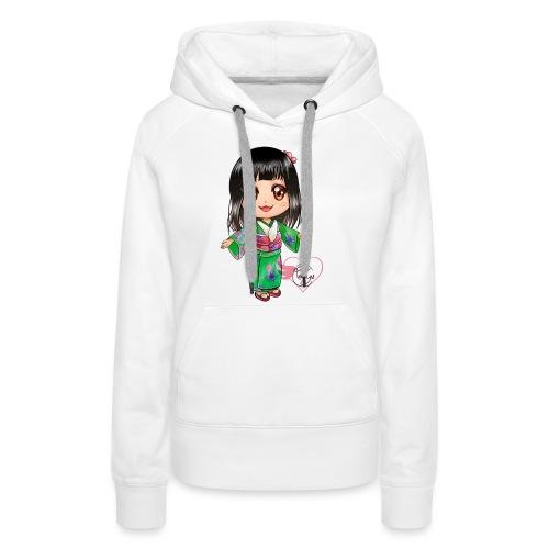Rosalys crossing - Sweat-shirt à capuche Premium pour femmes