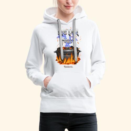 Metal Fan | ▶ Visit Dutch Oven T-Shirts - Frauen Premium Hoodie