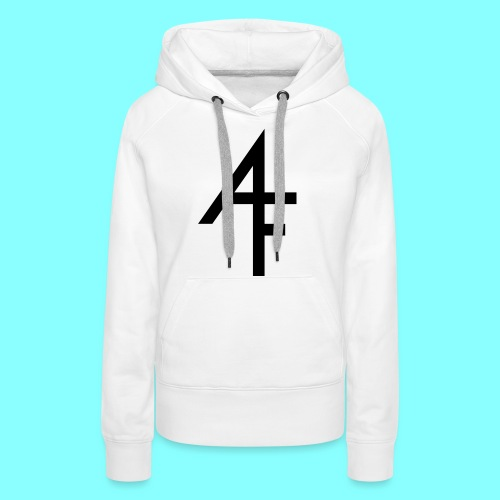 Abstract Filth logo - Premium hettegenser for kvinner