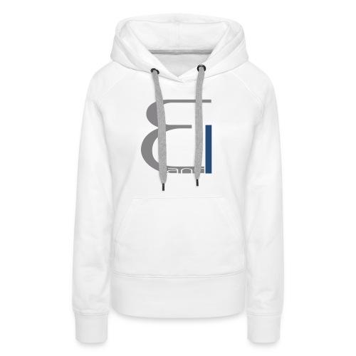 single logo - Frauen Premium Hoodie